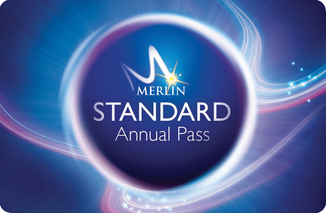 Standard Merlin Annual Pass Card Rounded Edges