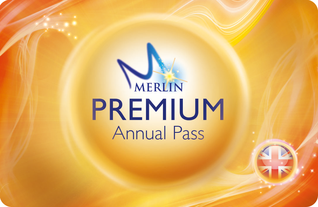 Premium Merlin Annual Pass Card Rounded Corners