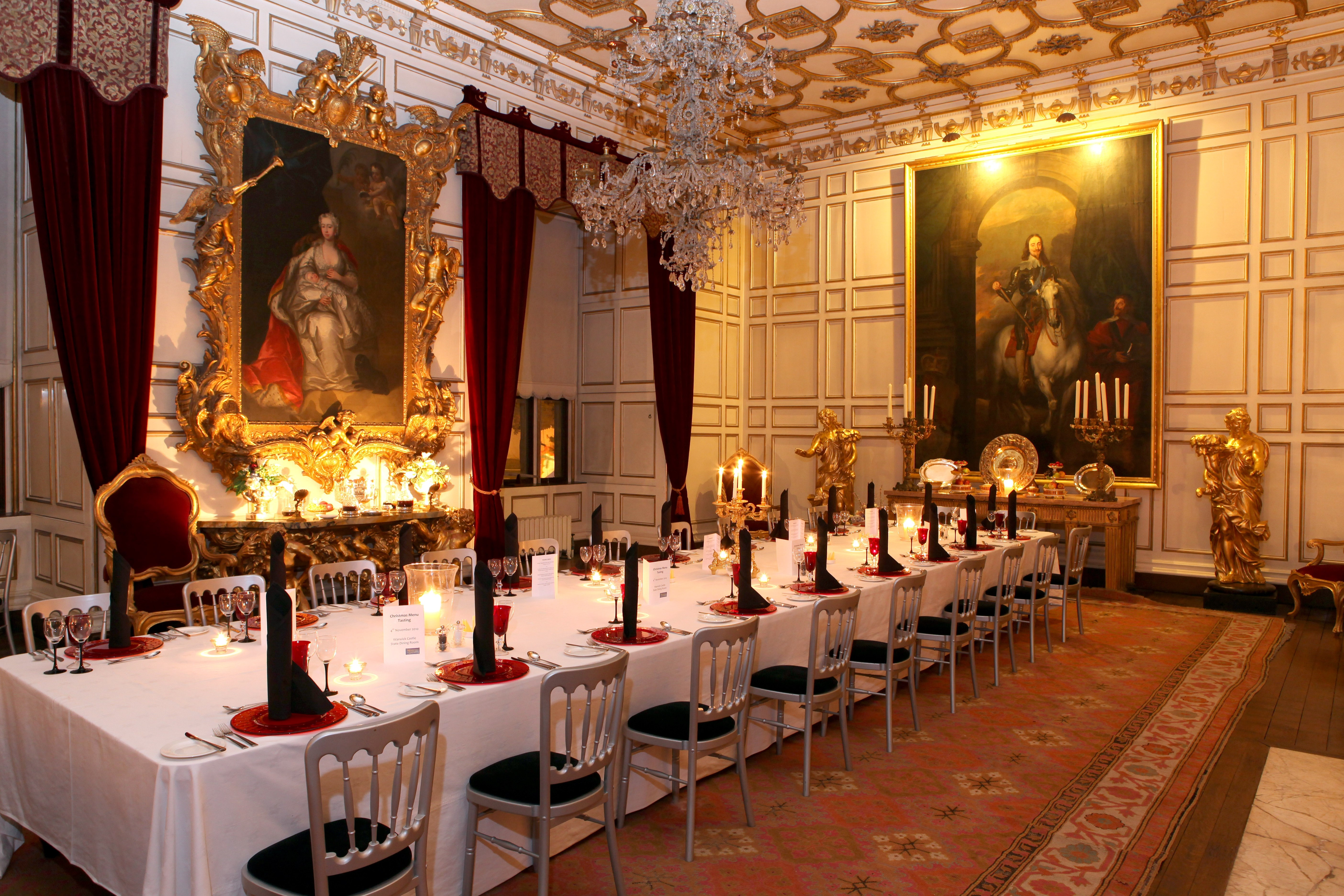 State Dining Room & Axminster